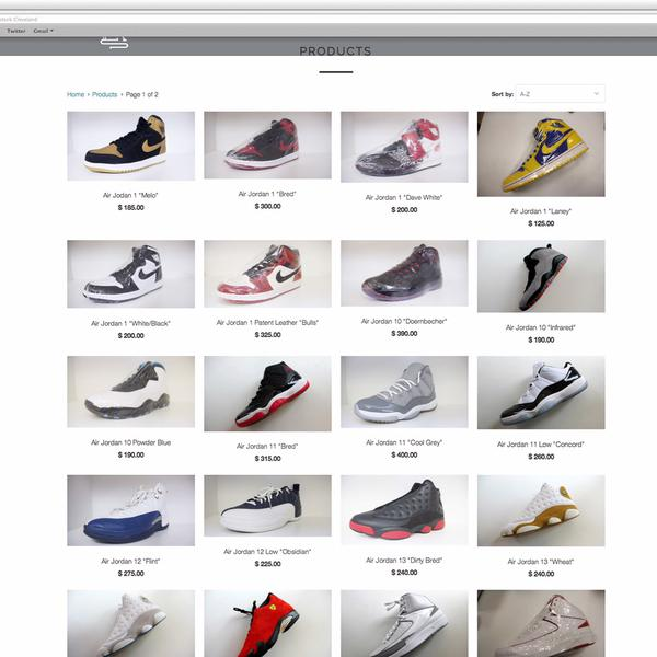 New Sneaker Retail Shop, The Restock Cleveland's Online